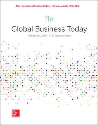 Global Business Today, ISBN: 9781260565812